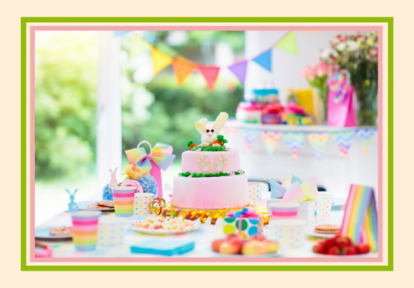 How to organise a sustainable birthday party